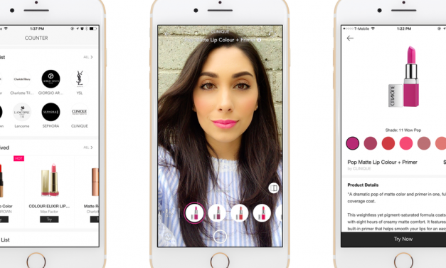 Phone app gives you a virtual makeup counter to try on lipsticks