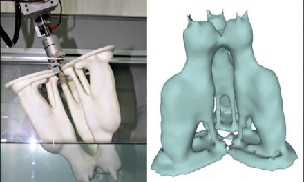 3-D Shape Modeling Using Water to Improve Reconstruction of Complex Objects