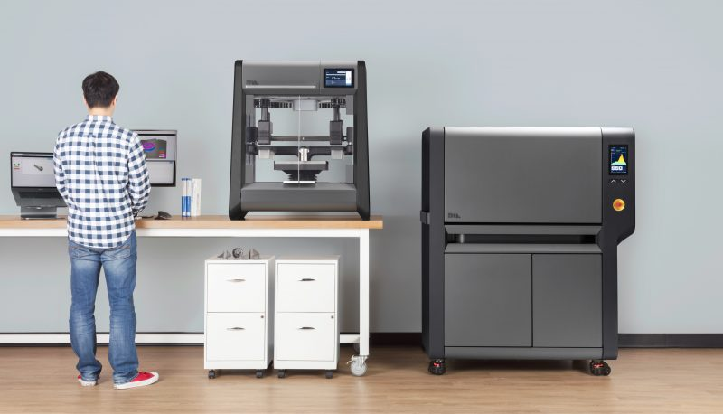Studio System. From left to right: Console, Printer and, Furnace.