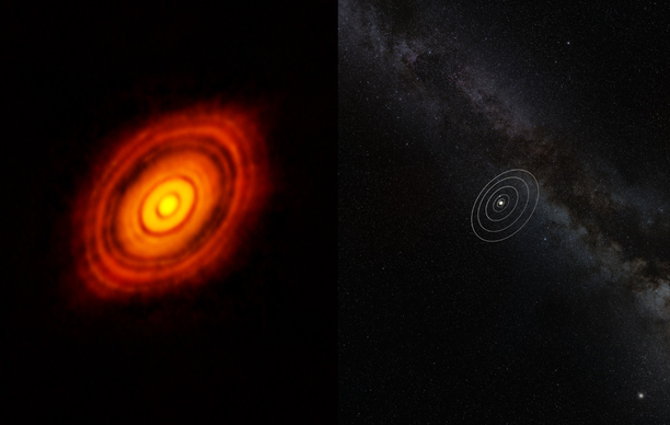 Astronomers Study Protoplanetary Disk Giving Birth to a 'Super-Earth'