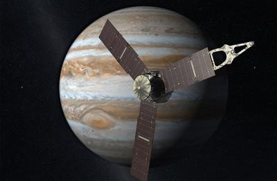 NASA's Juno probe to fly directly over Jupiter's Great Red Spot Storm on July 10