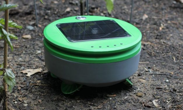 Weed Pulling Autonomous Robot for the Garden