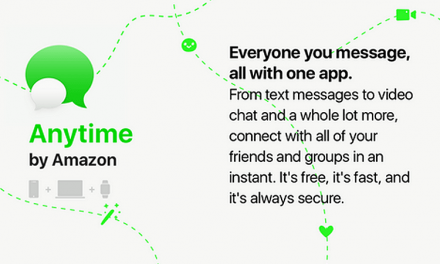 Amazon Anytime Messaging app Likely in the Works