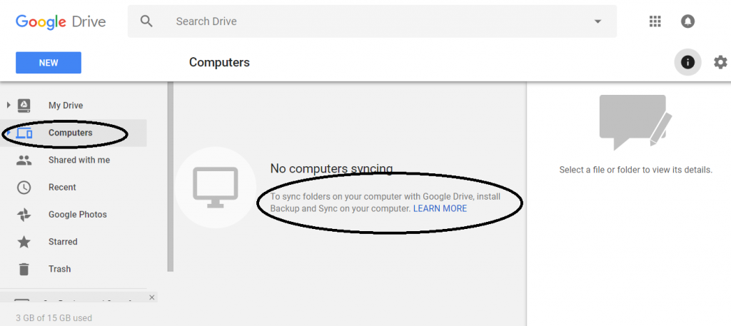 backup mac to google drive