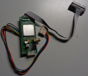 gsm gas pump skimming device