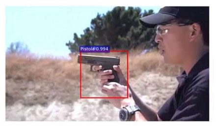 Artificial Intelligence System Detects When a Gun appears in Video Surveillance