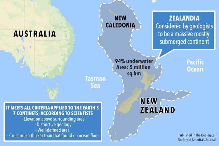 Expedition to Prove Zealandia is Earth's Eighth Continent Launches