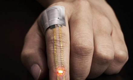 Hypoallergenic Wearable Electronic Sensor For Health Monitoring Developed