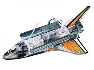 4D-MASTER-4D-VISION¡VVEHICLES-CUTAWAY-MODEL-SPACE-SHUTTLE