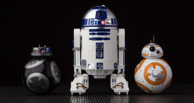 Sphero Debuts Cool New Smart Phone Controlled R2-D2 and BB-9E Droids