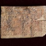 Ancient Babylonian Clay Tablet is World's Oldest Trigonometric Table