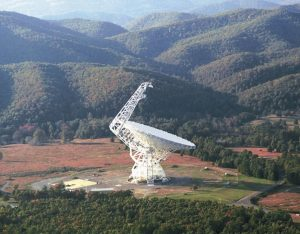 Green Bank Telescope in West Virginia
