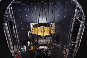 James-webb-telescope-suspended_in_chamber