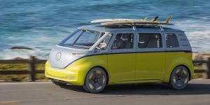 New Volkswagon VW Bus I.D. Buzz Cargo