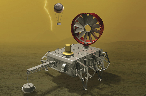 Non-Electronic Rover Being Prototyped For Future Venus Exploration Mission