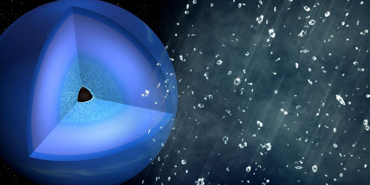 Scientists Recreate Neptune's Legendary Diamond Rain