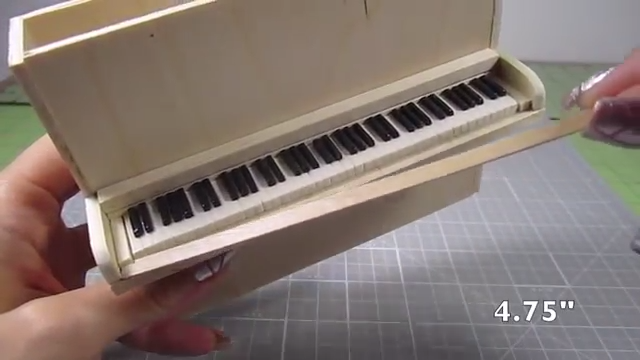 How to Make a Beautiful DIY Miniature Piano or Violin
